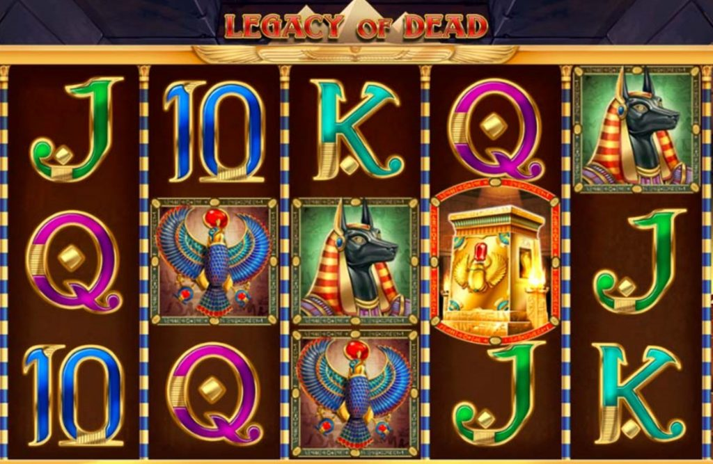 Legacy Of Dead Slot Game Features